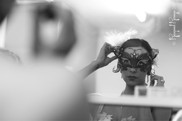 Veronika Valentine backstage by Raquel Rouge