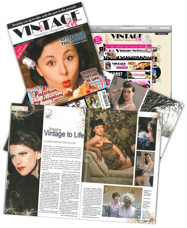 Vintage Life Magazine featuring photography by Rachel Spivey