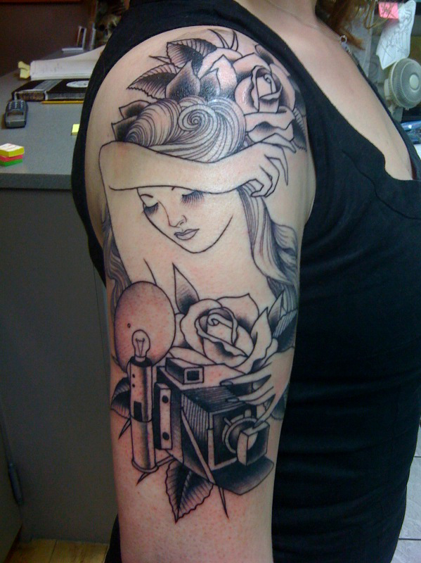 Tattoo by Valrie Vargas