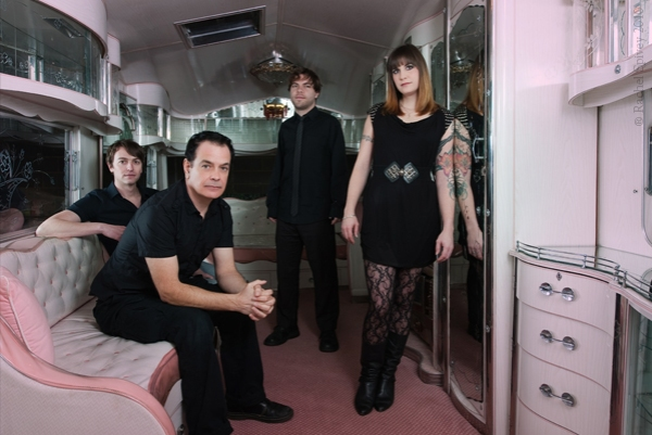 The Wedding Present photographed by Rachel Spivey