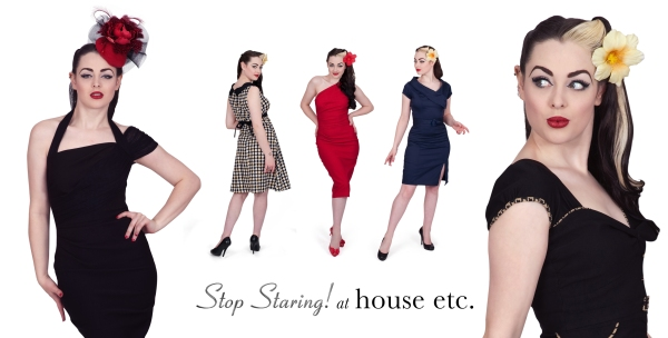 Missy Malone models Stop Staring dresses