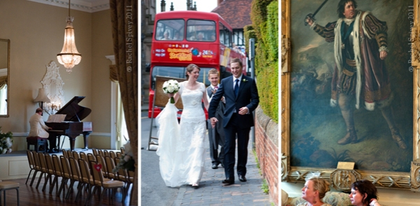 Wedding photographs in Shakespeare's Stratford by Rachel Spivey
