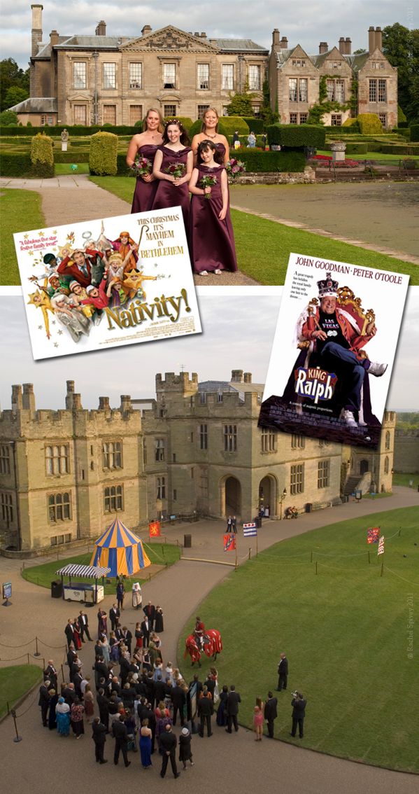 Wedding venues Coombe Abbey and Warwick Castle