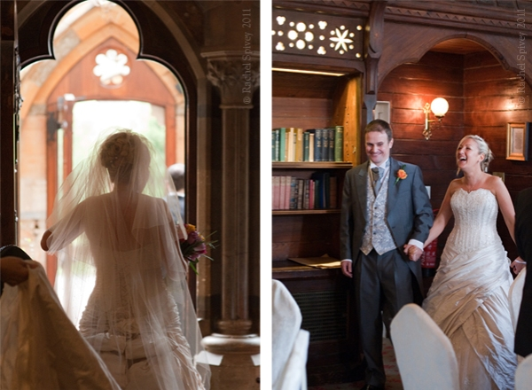 Wedding Couple at Ettington Park
