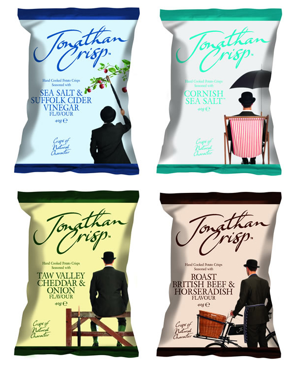 Snack packaging featuring photography by Rachel Spivey