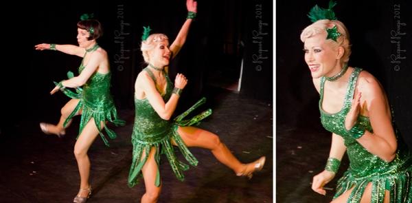 Flapper dancers The Bee's Knees