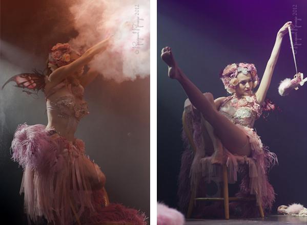 Emmanuelle Claire fairy striptease