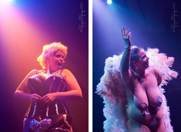Burlesque comedienne Mama Jenufa