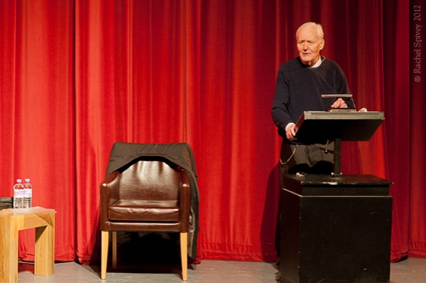 Tony Benn photographed in Leamington Spa by Rachel Spivey Photographer 2012