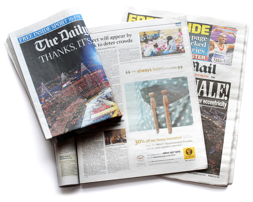 newspaper and print media Print vs online: how the print edition of the new york times trumps the online media criticism i was paying for home delivery of the newspaper again.