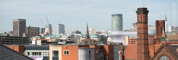 Panorama of Digbeth, Birmingham