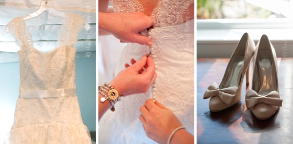 Bridal details photographed by Rachel Spivey