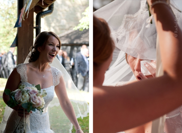 Extreme emotions of a wedding day