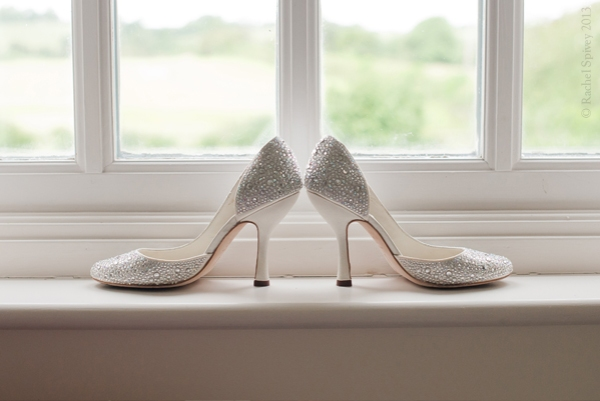 Jimmy Choo Wedding Shoes Compton Verney Warwickshire