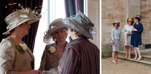 Mother of the bride groom hats photography Walton Hall and Compton Verney