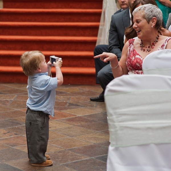 Toddler turns photographer Nailcote Hall Solihull
