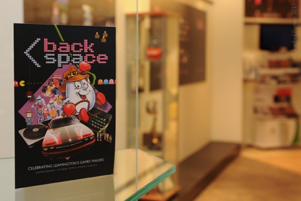 Leamington Spa Backspace event flyer designed by Craig Spivey