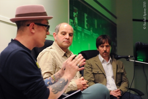 Will Freeman interviews Philip Oliver and David Darling at Backspace in Leamington Spa