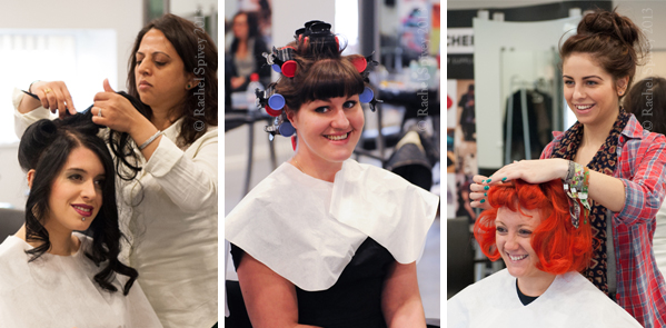 Vintage hairdressing training course