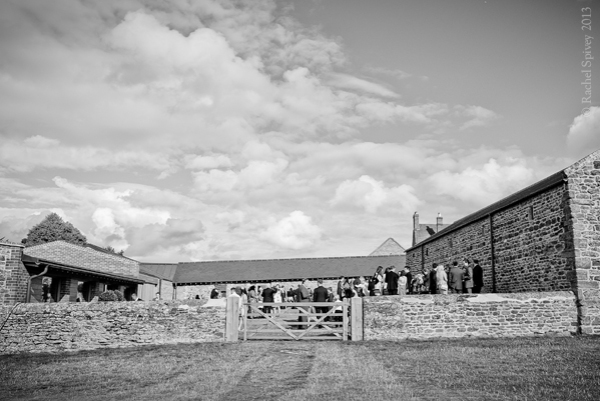 Converted barn wedding venue in Northamptonshire