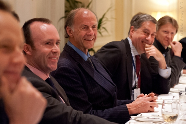 Ranulph Fiennes after dinner speaker photographed by Rachel Spivey