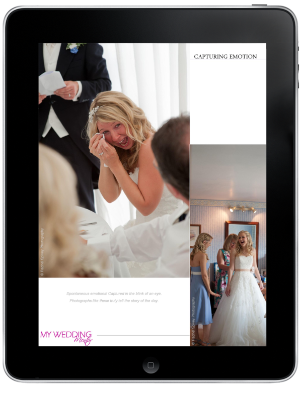 Rachel Spivey Photographer featured in My Wedding Mentor digital magazine
